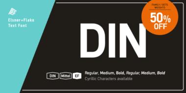 172538 380x190 - Font dňa – DIN Mittel EF
