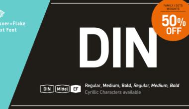 172538 380x220 - Font dňa – DIN Mittel EF