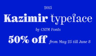 173727 380x220 - Font dňa – Kazimir (od 20,50€)