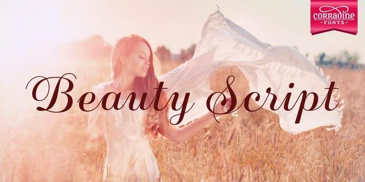 173896 - Font dňa – Beauty Script (zľava 35%, 10,39€)