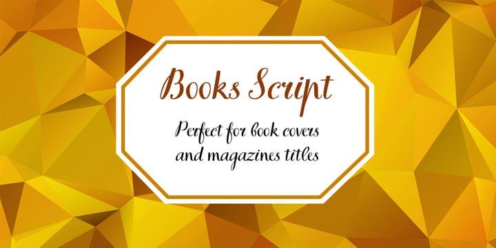 177974 - Font dňa – TT Books Script