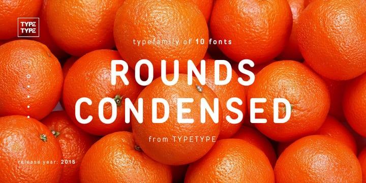 178338 - Font dňa – TT Rounds Condensed (od 1,80€)