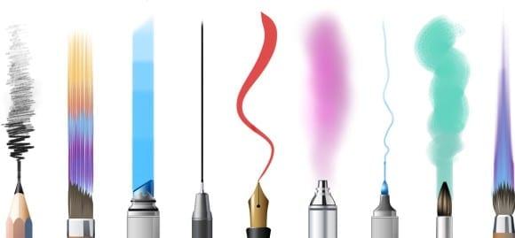 brushes 5ce2a954233a52fda570e37c5187b3bd 580x269 - Sketchbook Pro so zľavou 40%!