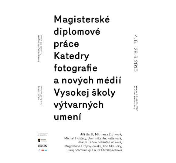 Diplomové práce 2015