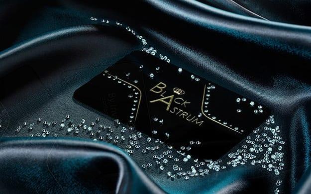 expensive business cards diamonds 1 - Diamanty a vizitky sú večné