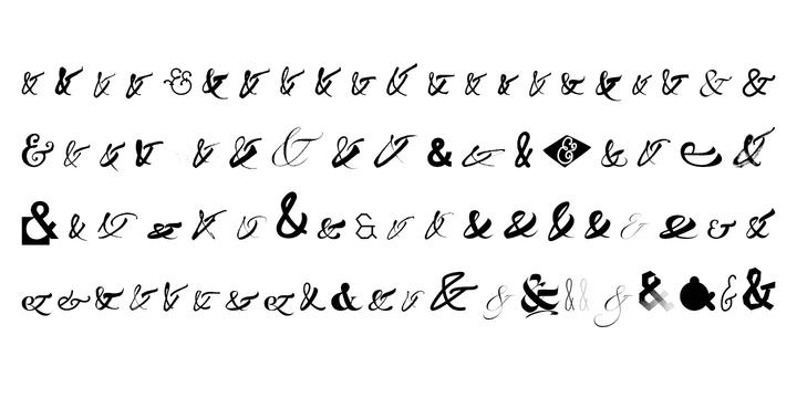 119550 - Font dňa – Ampersanders