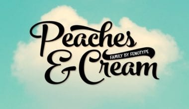 144379 380x220 - Font dňa – Peaches And Cream