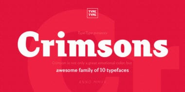 175589 1 380x190 - Font dňa – Crimsons