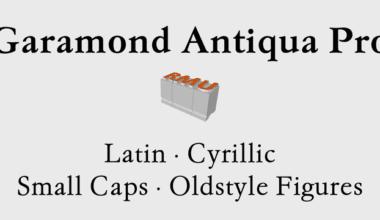 178215 380x220 - Font dňa – Garamond Antiqua Pro (od 34,39€)