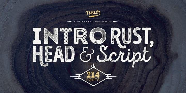 179237 - Font dňa – Intro Rust (zľava 90%, rodina 41,90€)