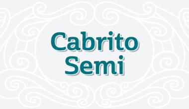 179948 380x220 - Font dňa – Cabrito Semi (od 0€)