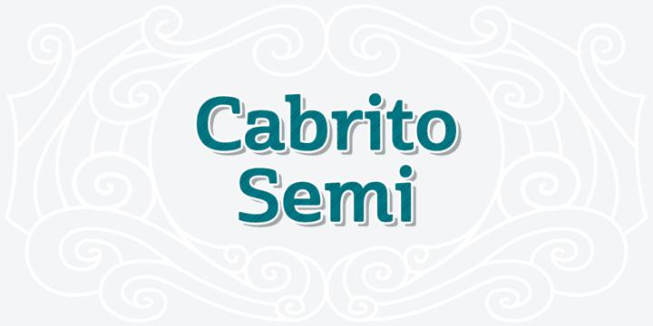 179948 - Font dňa – Cabrito Semi (od 0€)