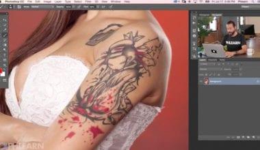 1 remove tattoo in photoshop 380x220 - Tutorial – Ako odstrániť tetovanie v PS