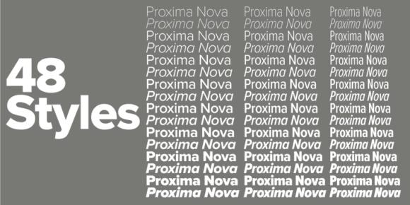 199937 580x290 - Font dňa – Proxima Nova