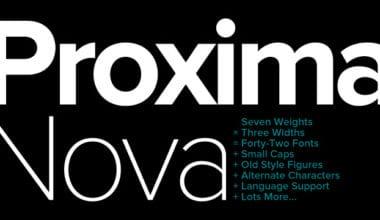 20979 380x220 - Font dňa – Proxima Nova