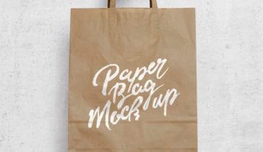 brown paper bag mockup 600 380x220 - Papierová taška ako MockUP zadarmo