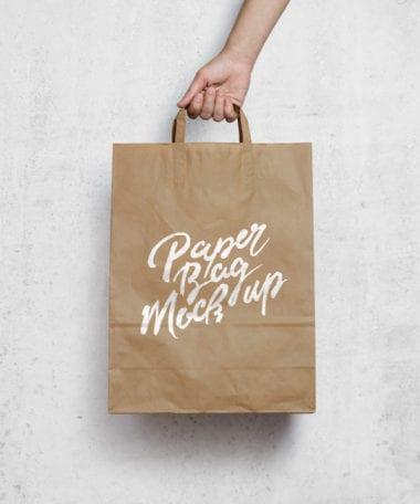 brown paper bag mockup 600 380x456 - Papierová taška ako MockUP zadarmo