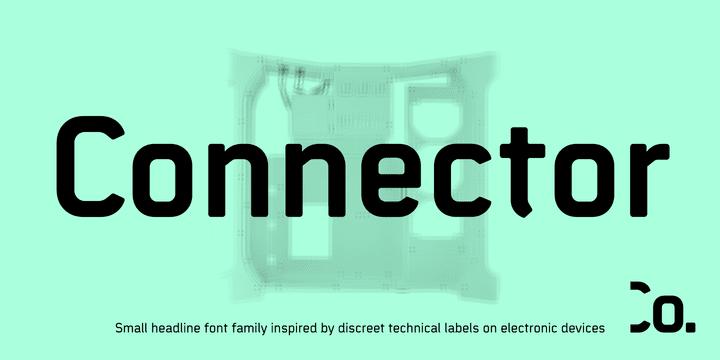 170834 - Font dňa – Connector