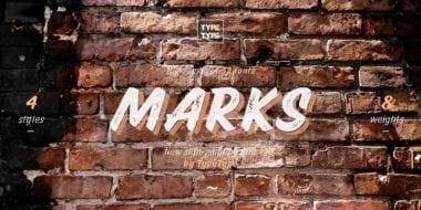 183772 380x190 - Font dňa – TT Marks