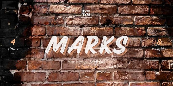183772 - Font dňa – TT Marks