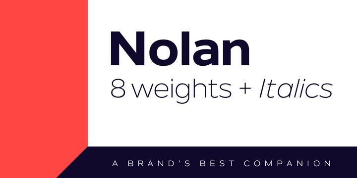 184658 - Font dňa – Nolan