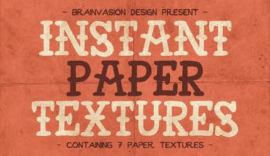 cover 380x220 - Sada papierových textúr zadarmo!