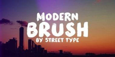 159565 380x190 - Font dňa – Modern Brush
