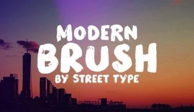 159565 380x220 - Font dňa – Modern Brush