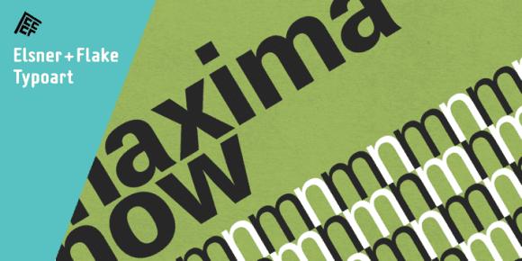 191500 580x290 - Font dňa – Maxima Now Pro