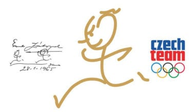 0117521 380x220 - Nové logo českých olympionikov od Zátopka