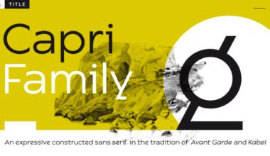 192553 380x220 - Font dňa – Capri Pro
