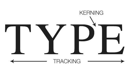 Kerning-Tracking