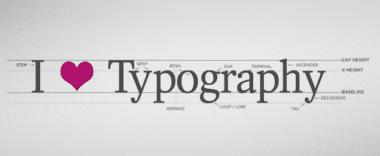 typografia 380x156 - Dizajnové termíny – jednoducho pre laikov I.