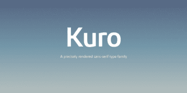 194720 380x190 - Font dňa – Kuro