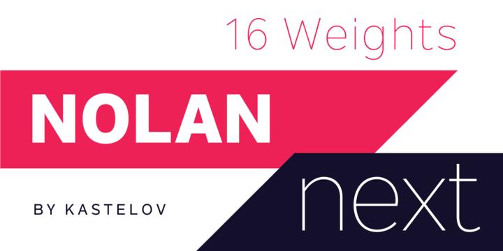195012 - Font dňa – Nolan Next