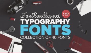screen shot 2016 01 19 at 20.36.49 380x220 - Typography Fonts Bundle so zľavou 95%!