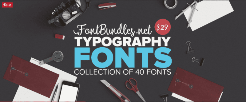 screen shot 2016 01 19 at 20.36.49 800x332 - Typography Fonts Bundle so zľavou 95%!