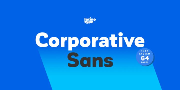 181447 - Font dňa – Corporative Sans