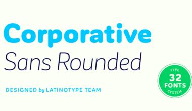 199158 380x220 - Font dňa – Corporative Sans Rounded
