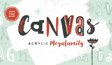 201419 380x220 - Font dňa – Canvas Acrylic Megafamily