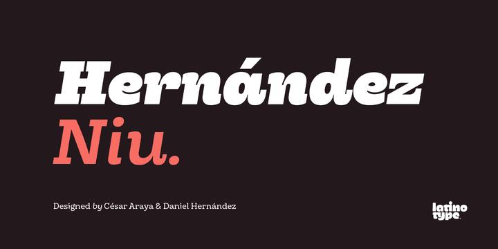203461 - Font dňa – Hernández Niu