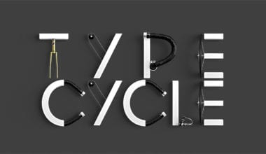 43d1fd34698035.56da04f1edb0b 380x220 - Písmo poskladané z bicykla!