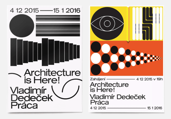 Jozef Ondrik_Architecure is Here. Posters for PRAHA