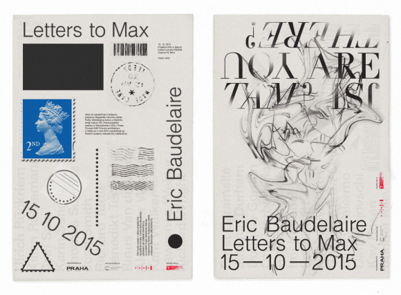 Jozef Ondrik_Letters to Eric - Eric Baudelaire posters