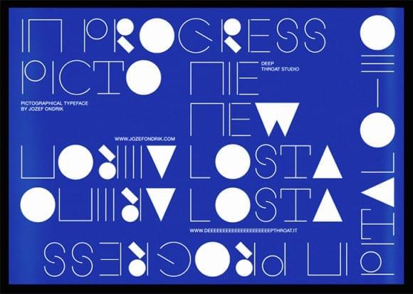 Jozef_Ondrik_Picto Typeface in Progress vol. II