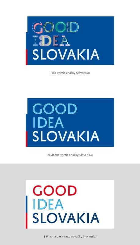 Loga znacky Slovensko