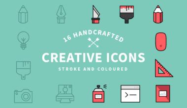 creative icons1 o 380x220 - Set kreatívnych ikoniek zadarmo!