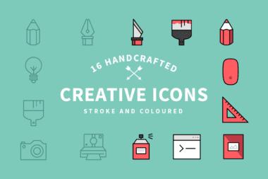 creative icons1 o 380x253 - Set kreatívnych ikoniek zadarmo!
