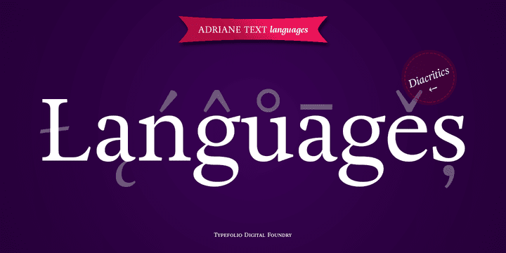 110677 - Font dňa – Adriane Text