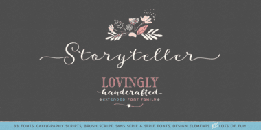 202739 380x190 - Font dňa – Storyteller